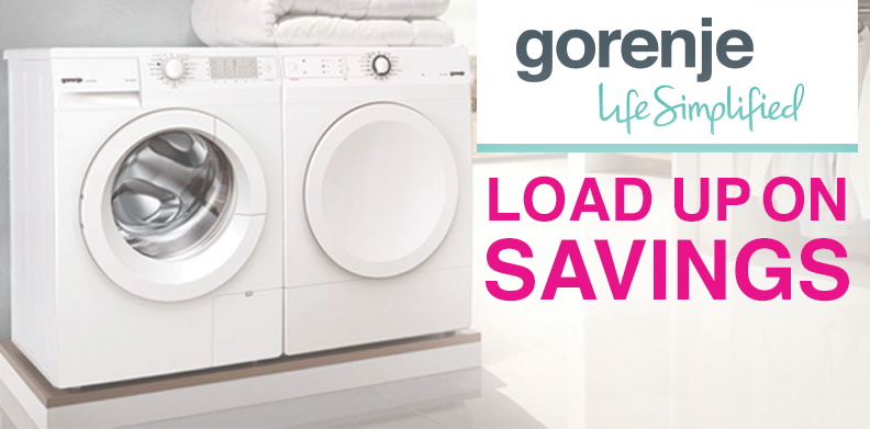 Gorenje - Load Up on Savings