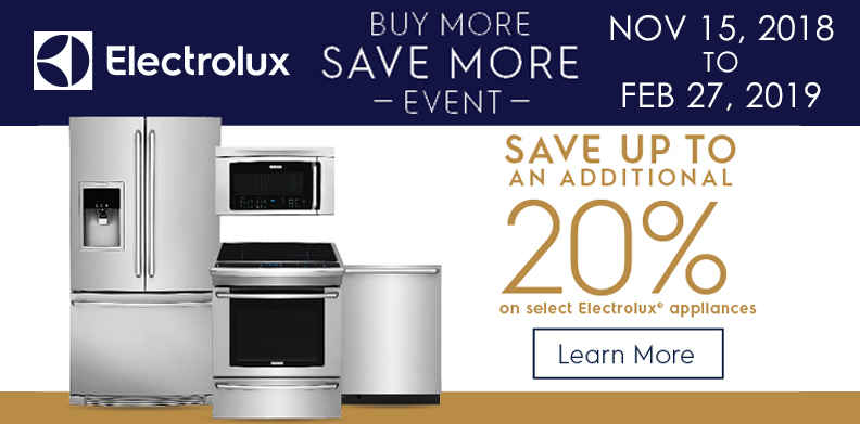 ELECTROLUX ICON BUY MORE, SAVE MORE