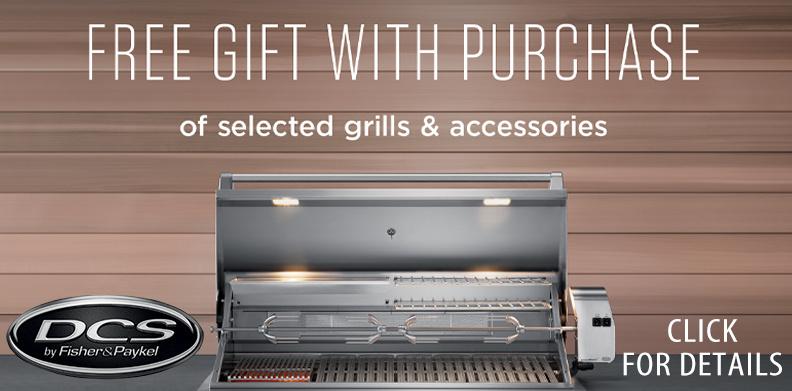 DCS FISHER PAYKEL Free BBQ cover offer