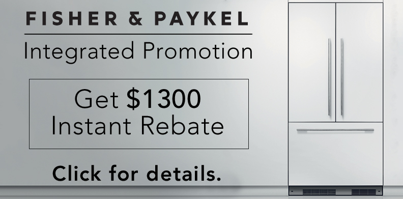 FISHER & PAYKEL INTEGRATED PROMOTION