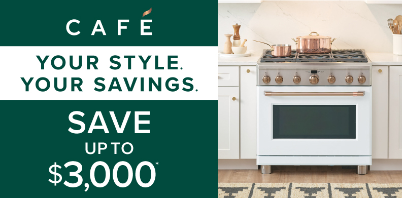 CAFÉ YOUR STYLE. YOUR SAVINGS.