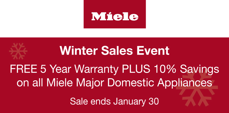 MIELE WINTER SALES EVENT