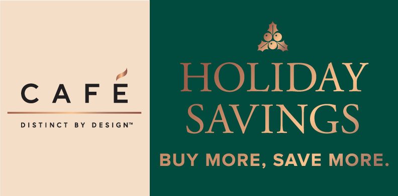 CAFÉ HOLIDAY SAVINGS BUY MORE, SAVE MORE EVENT.