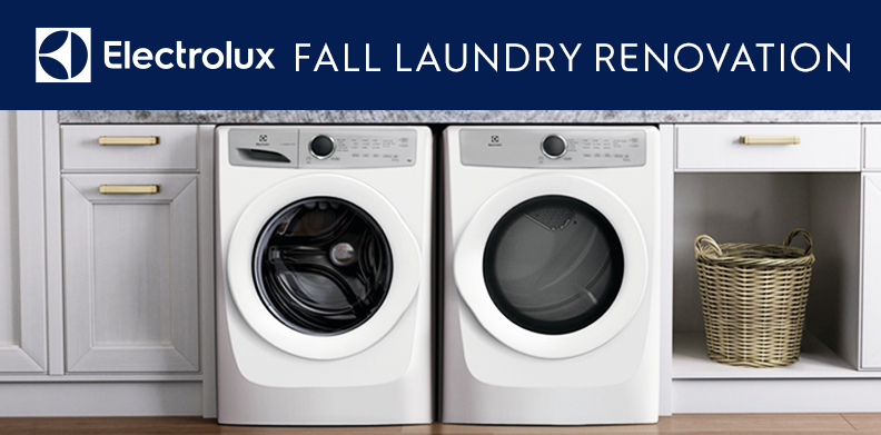ELECTROLUX FALL LAUNDRY RENOVATION