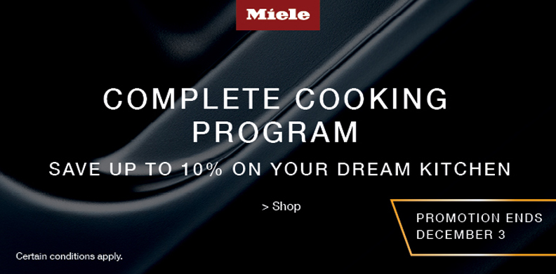 MIELE COMPLETE COOKING PROGRAM