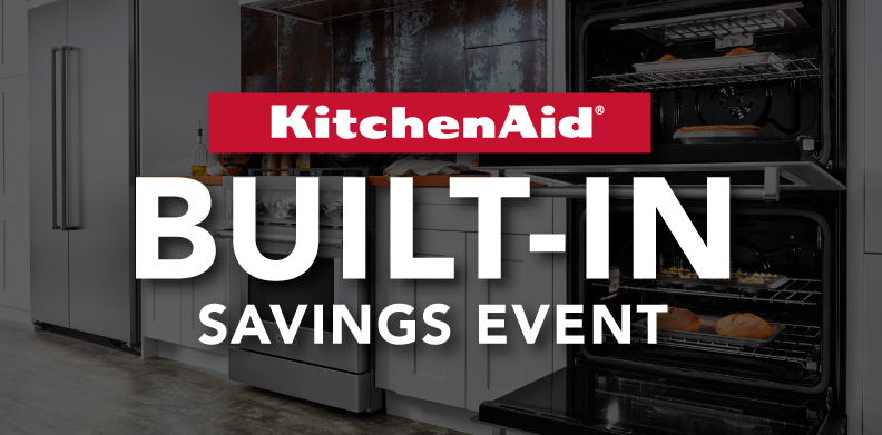 KITCHENAID® BUILT-IN SAVINGS EVENT